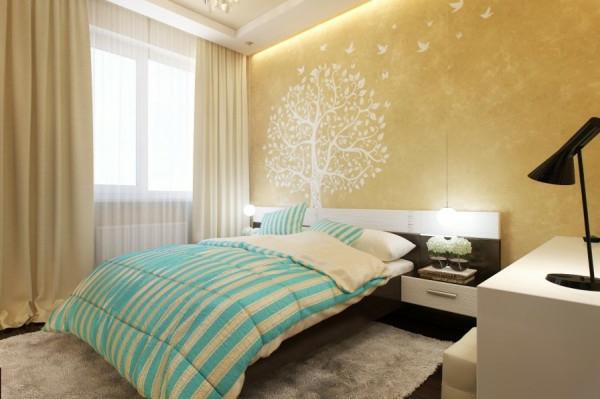 Kleines Schlafzimmer modern gestalten  Designer Lsungen