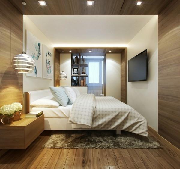 Schlafzimmer Mit Bettüberbau Modern   Schlafzimmer Aus ...