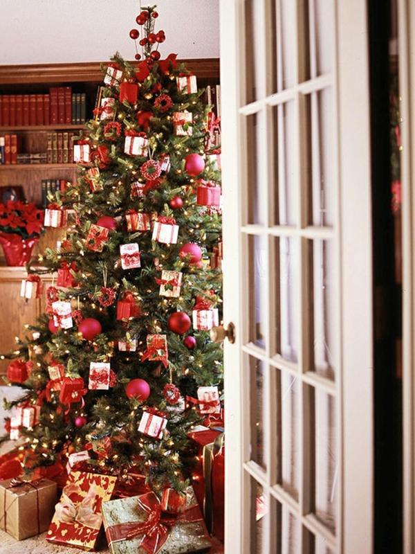 Weihnachtsdekoration fr knstlichen Weihnachtsbaum  25 Wohnideen