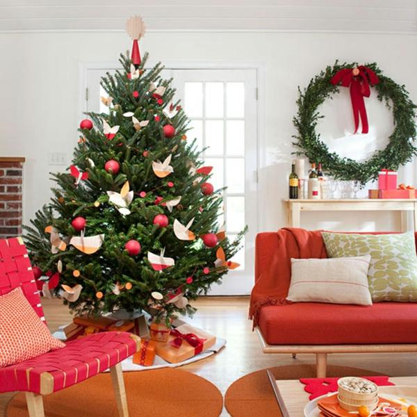 Weihnachtsdekoration fr knstlichen Weihnachtsbaum  25