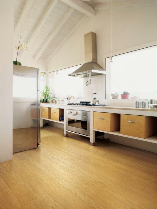 Küchenboden Pvc Fliesen   Küchenboden: Welcher Belag ...