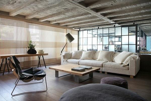 Schickes Loft und Design Studio in einem kombiniert