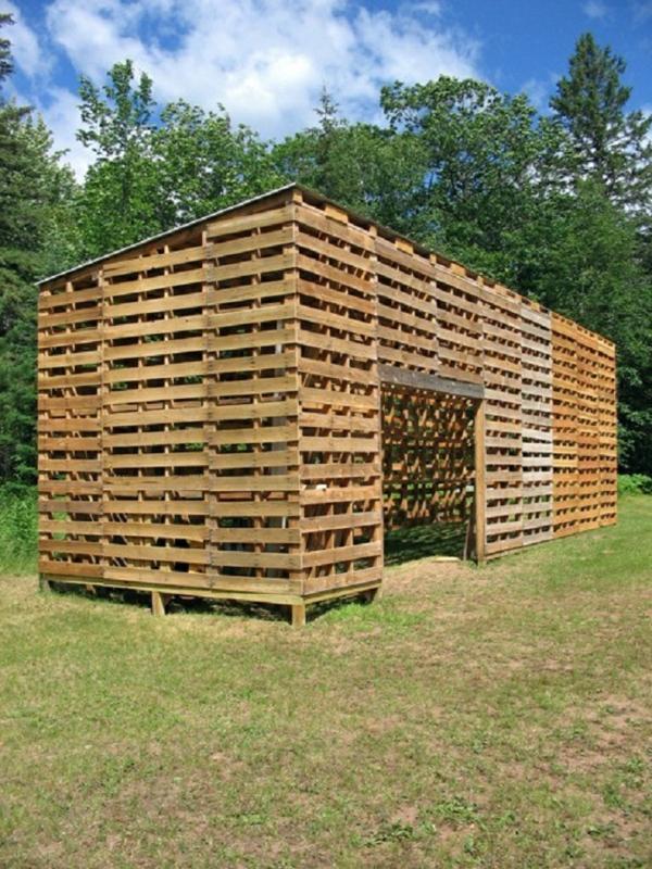 Europaletten im Garten verwenden  25 thematische
