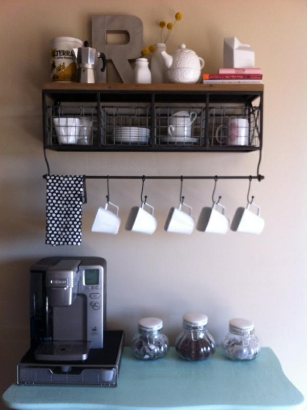 Kaffeebar in Ihrer Kche gestalten  die Kaffeezeit zu Hause genieen