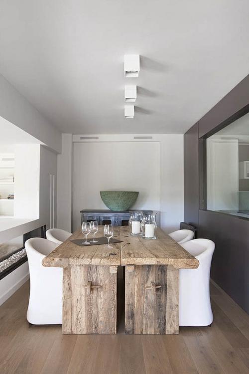 Esstische im Landhausstil mit Sthlen frs Esszimmer