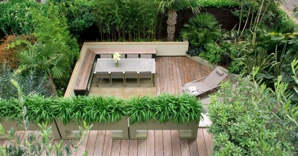 garten gestalten mit bambus reimplica modern dekoo - boisholz, Garten und bauen