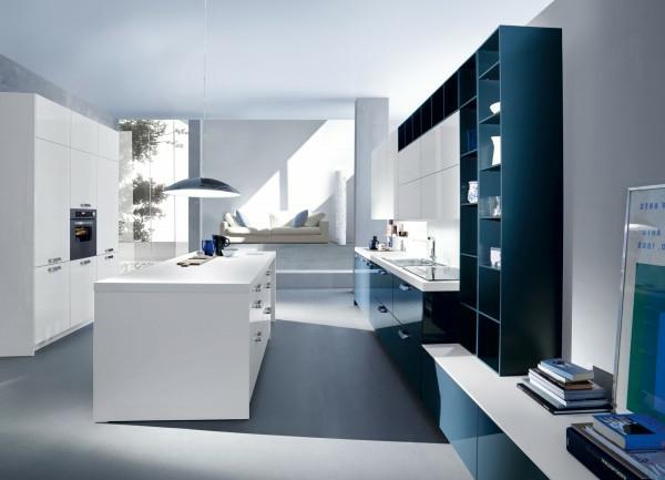 Italienische Kchenmbel  minimalistisches Design von