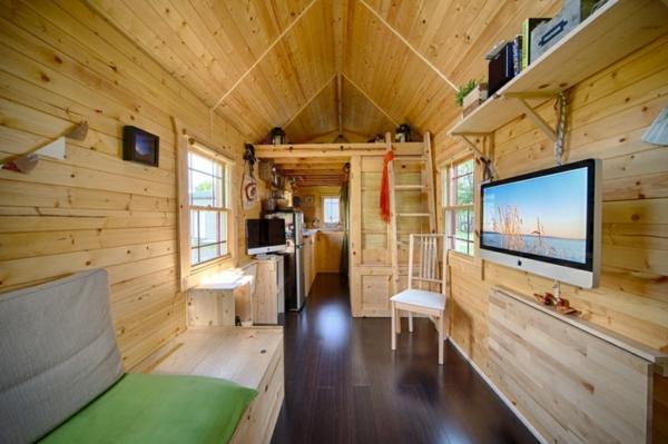 Mobiles Haus  Ein DIY Projekt mit gemtlichem Interieur