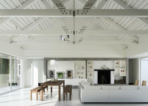Wohneinrichtung Landhausstil  Wohndesign und Innenraum Ideen