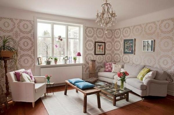 Die perfekte WohnzimmerTapete  wie Sie die richtige Farbe aussuchen