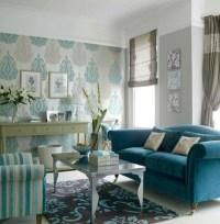 Die perfekte Wohnzimmer-Tapete - wie Sie die richtige ...