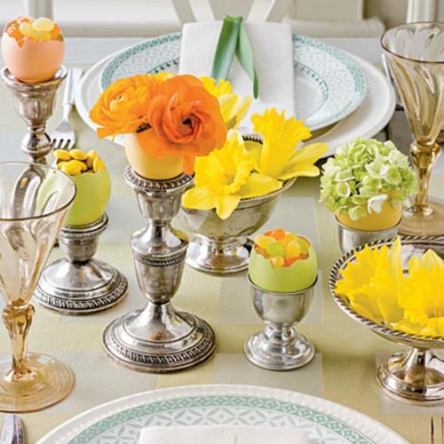 Frhlingsdeko zu Ostern basteln  Machen Sie sich bereit