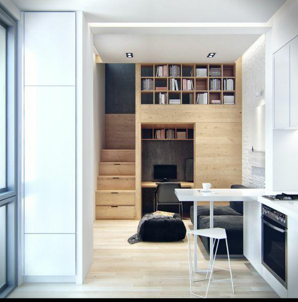 Praktische Einrichtungsideen fr kleine Apartments