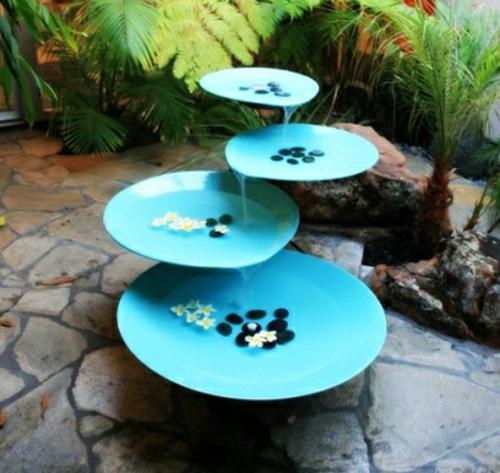 Gartendekoration selber machen  20 spezielle Dekoideen