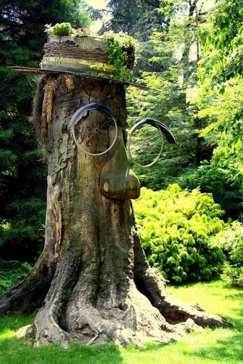 Gartenmbel Ideen die einen Hauch Kunst in Ihrem Garten hinzufgen