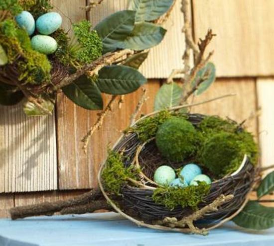 Osterdeko Ideen Mit Bunt Bemalten Und Prächtig Verzierten Ostereiern