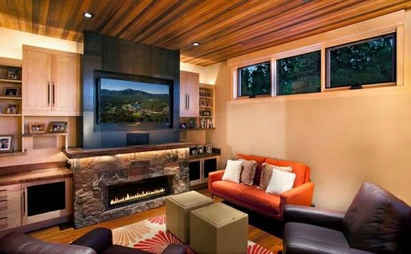 Wohnzimmer Einrichten Orange ~ Inspirierende Bilder Von Wohnzimmer ... Wohnzimmer Einrichten Orange