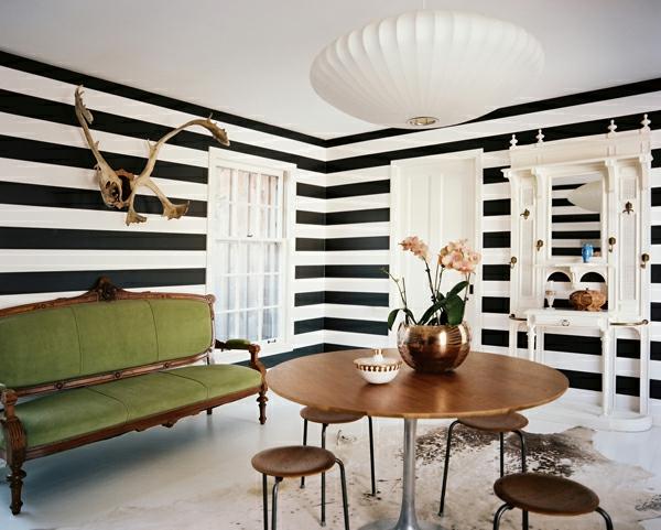 Superb Wandfarbe Streifen Muster » Terrassenholz, Deko Ideen