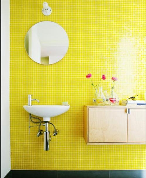 Badezimmer Gelb Grn
