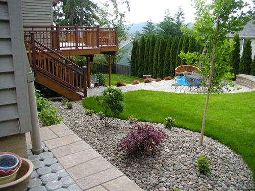 gartengestaltung kies - Gartengestaltung Mit Kies