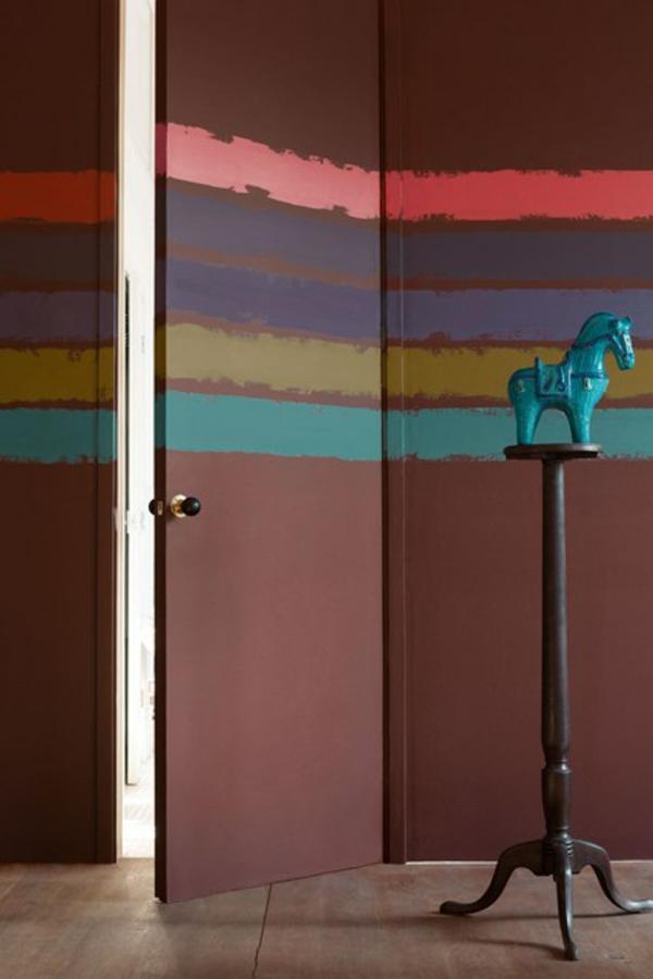 Wandgestaltung im Flur 50 Einrichtungstipps und Wandfarben Ideen