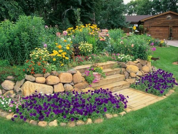 Gartengestaltung Mit Steinen Und Blumen Mystical Brandforesight Co
