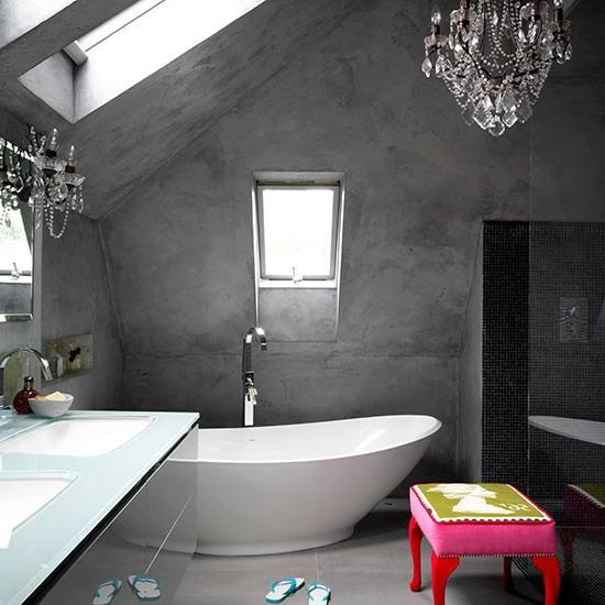 Badezimmer Ideen Modernes Bad L