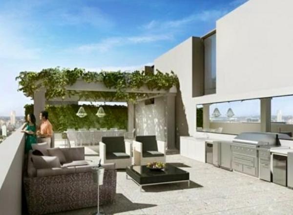 Dachterrasse Gestalten Umweltfreundliche Idee