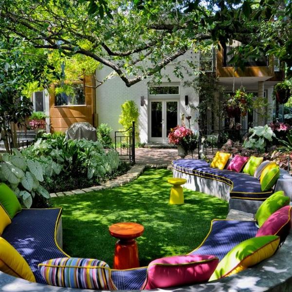 122 Bilder zur Gartengestaltung  stilvolle Gartenideen