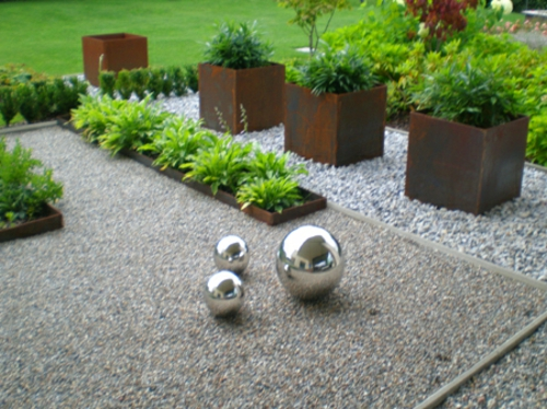 gartenkies gestaltung | moregs, Garten seite