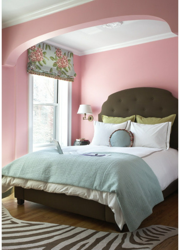 Farbgestaltung Schlafzimmer Ideen