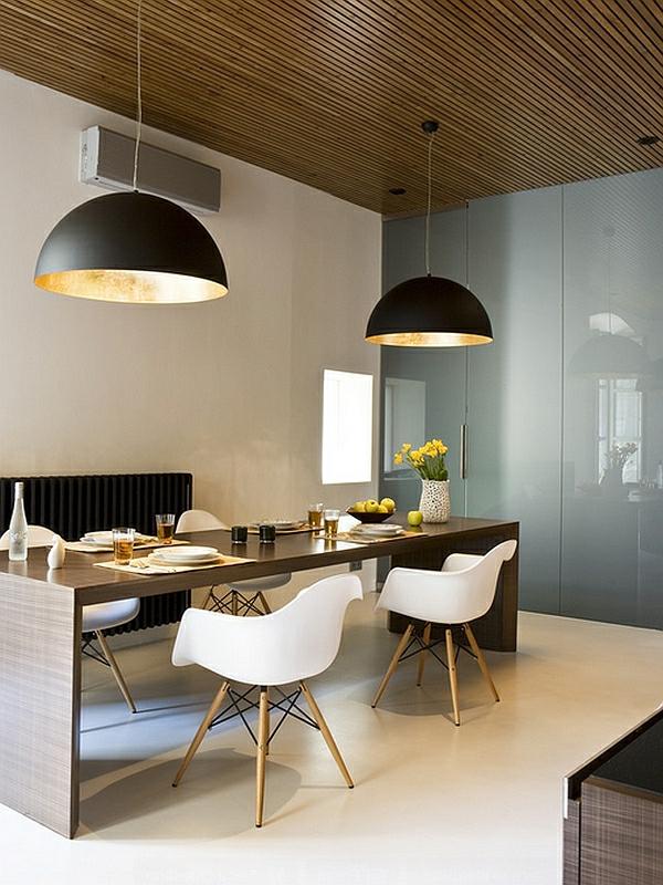 Groe Pendelleuchten im Esszimmer  moderne Hngelampen