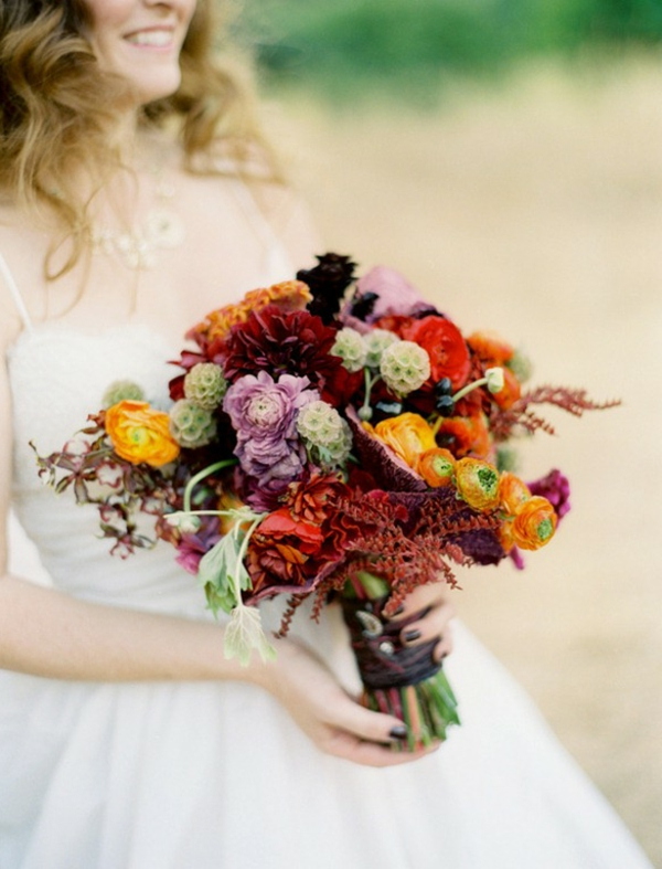 Erstaunliche Brautstrau Ideen im Herbst