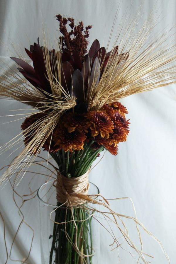 20 erstaunliche Brautstrau Ideen im Herbst