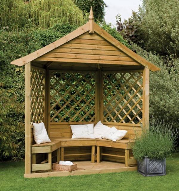 Gartenlaube selber bauen pergola im garten anleitung startseite design bilder - Gartenlaube selber bauen ...