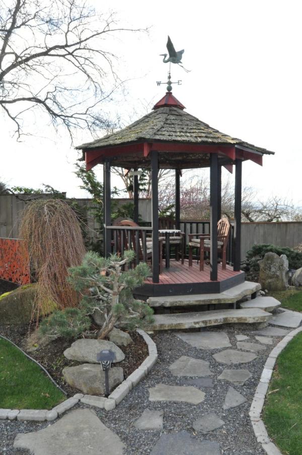 50 Gartenlauben aus Holz  Gartenpavillon selber bauen