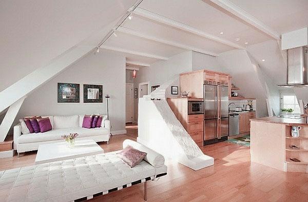 Dachwohnung Einrichten Bilder | Villaweb.Info