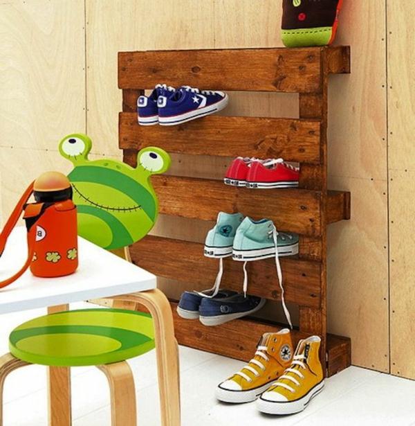 Schuhregal selber bauen  30 pfiffige DIY Ideen fr Sie