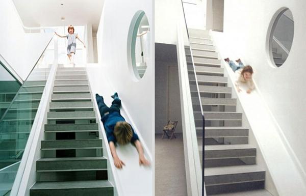Einmalige und kreative Designideen fr Treppen