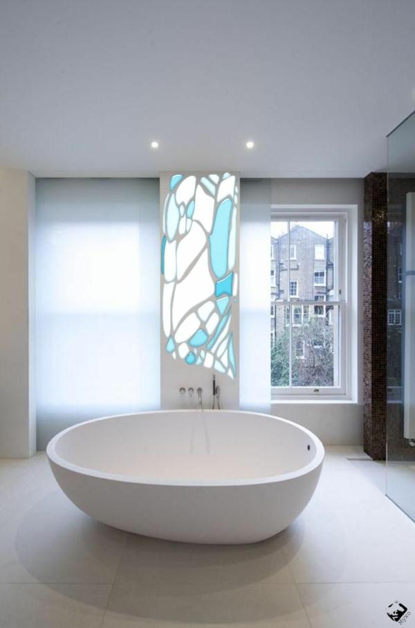 Minimalistische Badezimmer Ideen mit aufflliger sthetik