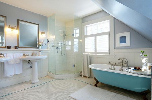 Farbige Badewannen Ideen fr moderne Badezimmer