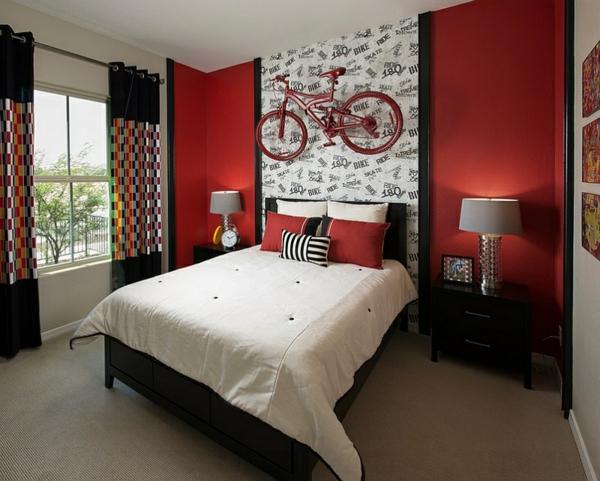 wandgestaltung schlafzimmer farbe | badezimmer & wohnzimmer, Schlafzimmer ideen
