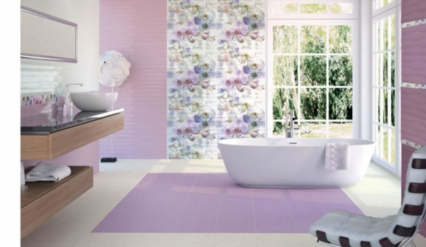 Fliesengestaltung Im Bad Coole Badezimmer Bilder
