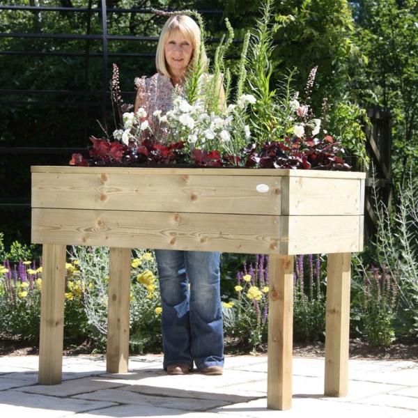 S Gartengestaltung Krauterhochbeet Selber Bauen L