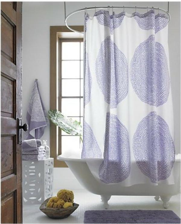 Marimekko Duschvorhang  Frische Farben und Muster im Bad