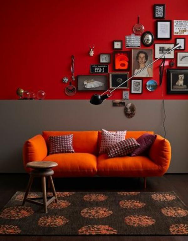 30 Wohnideen fr Wandfarbe in Grautnen  trendy