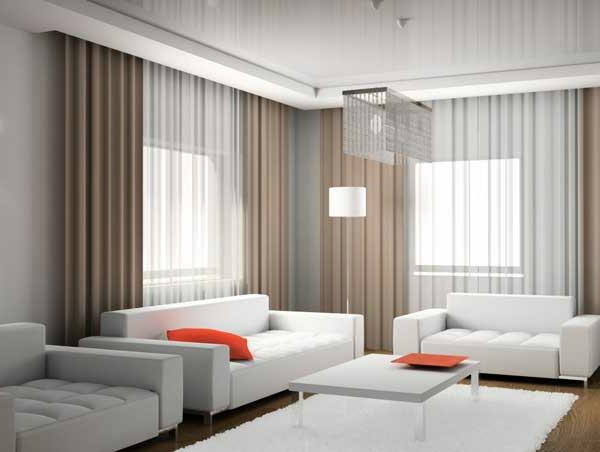 Wohnzimmergardinen und Vorhnge richtig auswhlen