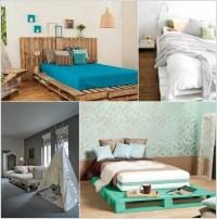 Europaletten Bett bauen - preisgnstige DIY-Mbel im ...