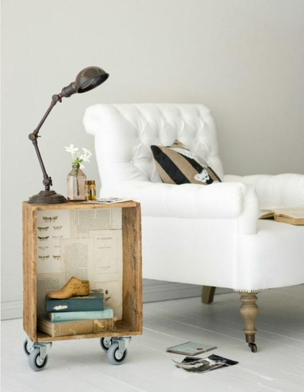 Europaletten Bett bauen  preisgnstige DIYMbel im Schlafzimmer