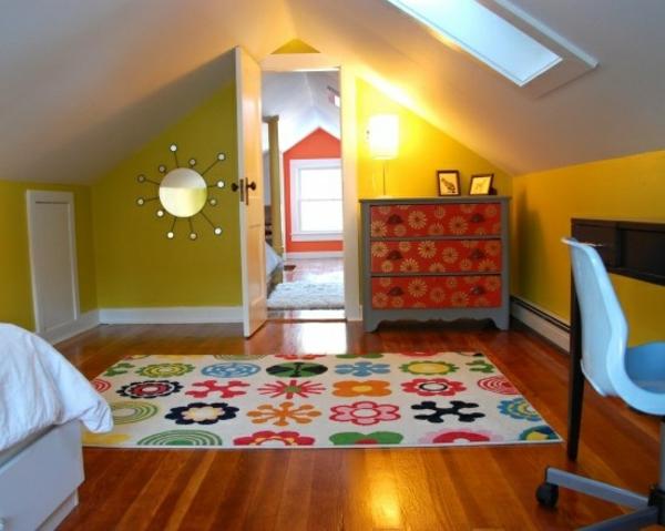Jugendzimmer einrichten mit dachschräge  DEKOIDEEN KINDERZIMMER MIT SCHRäGE – nxsone45